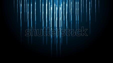 抽象的な 水色 ベクトル デザイン ストックフォト © saicle
