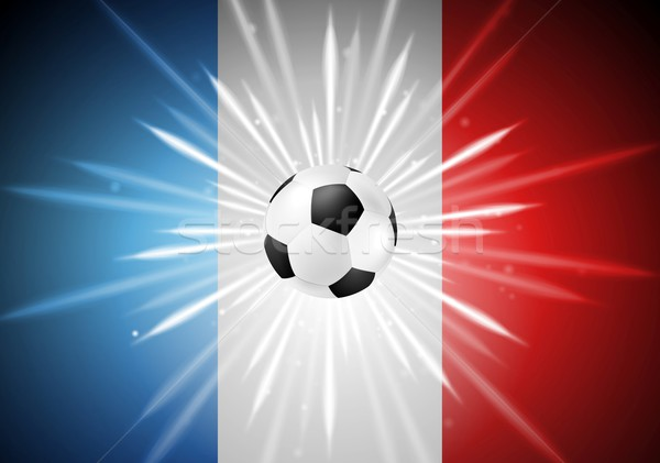 European Football Championship in France background Stock photo © saicle