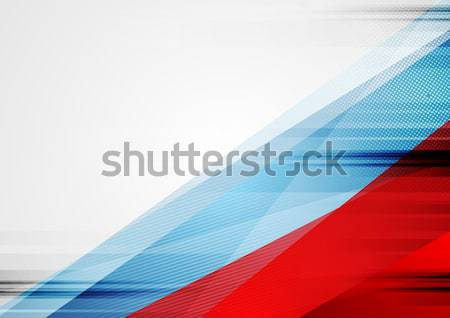 Independence Day abstract USA colors background Stock photo © saicle