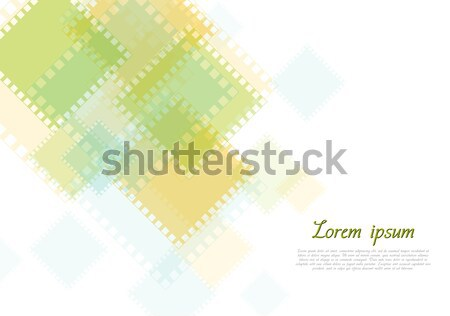 Abstract geometry tech background Stock photo © saicle