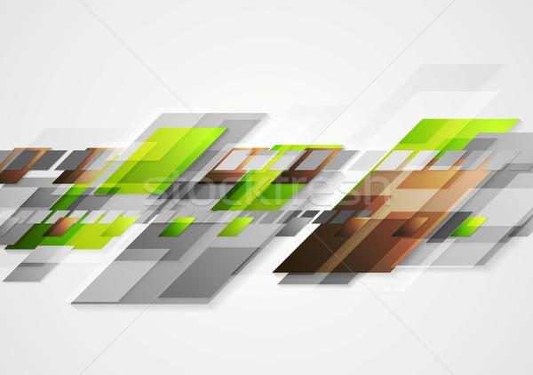 Bright hi-tech vector abstract design Stock photo © saicle