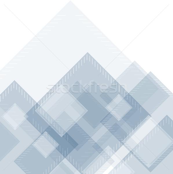 Geometryczny streszczenie wektora projektu tekstury Zdjęcia stock © saicle