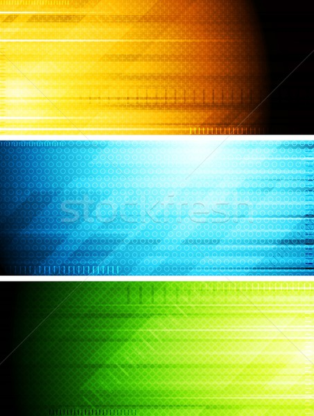 Vector banners collection Stock photo © saicle