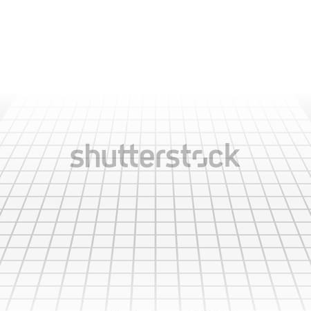 Grey tech abstract perspective background Stock photo © saicle