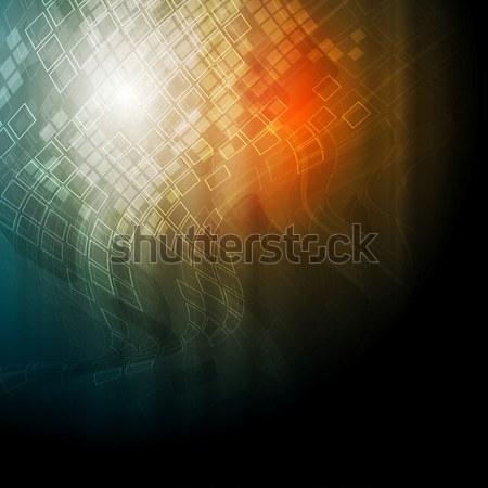 Brilhante técnico textura vetor projeto abstrato Foto stock © saicle