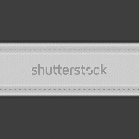 Abstract grey textile vector background  Stock photo © saicle