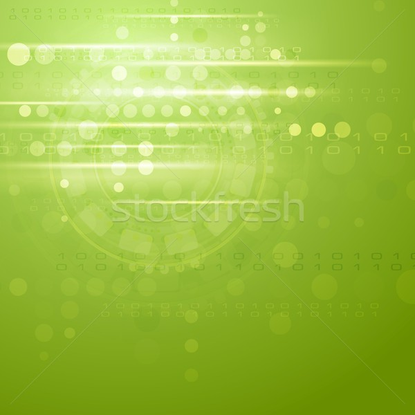 Groene vector heldere business ontwerp frame Stockfoto © saicle