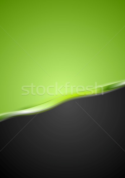 Stock photo: Abstract contrast wavy background