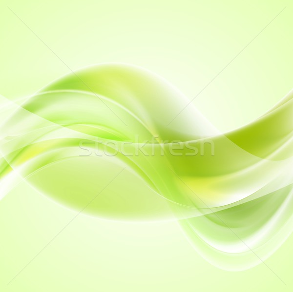 Bright waves background. Gradient mesh and blend included Stock photo © saicle