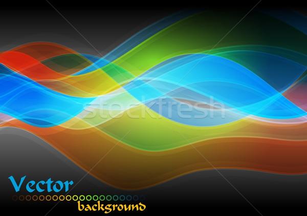 вектора абстракция аннотация Сток-фото © saicle