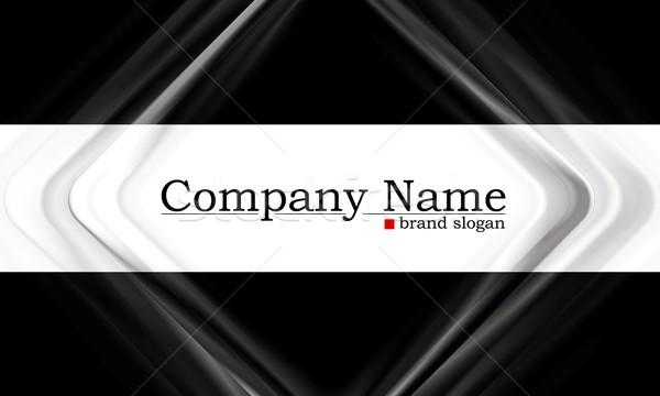 Business vector sjabloon eps 10 textuur Stockfoto © saicle