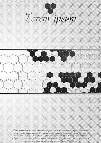 корпоративного вектора современных прибыль на акцию 10 текстуры Сток-фото © saicle