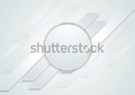 серый аннотация круга текстуры дизайна фон Сток-фото © saicle