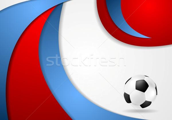 Euro calcio campionato 2016 Francia grafica Foto d'archivio © saicle