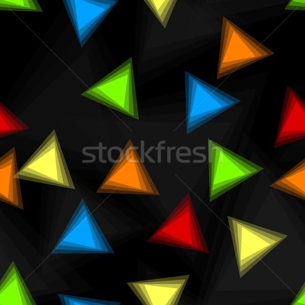 Stock photo: Vector seamless backdrop