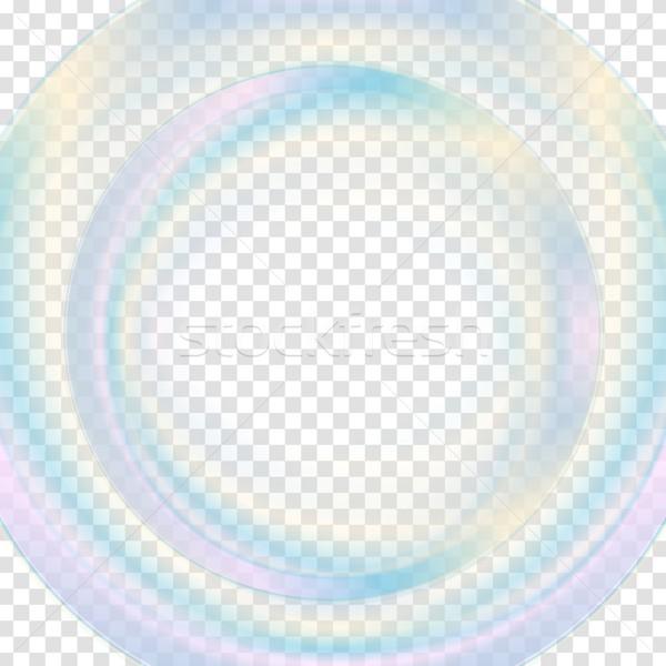 Színes absztrakt átlátszó kör vektor grafikus Stock fotó © saicle