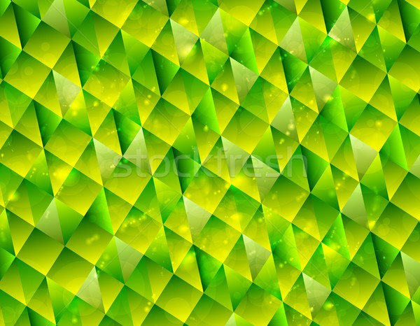 Abstract polygonal triangles tech background Stock photo © saicle