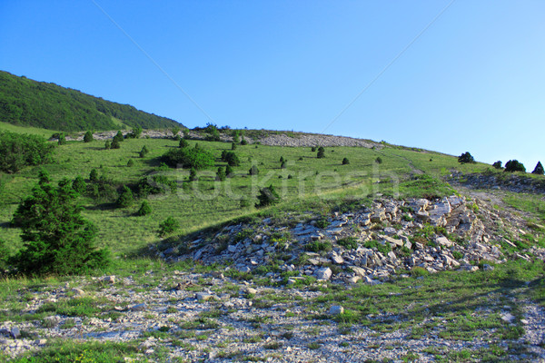 Slope of mountain Stock photo © saicle