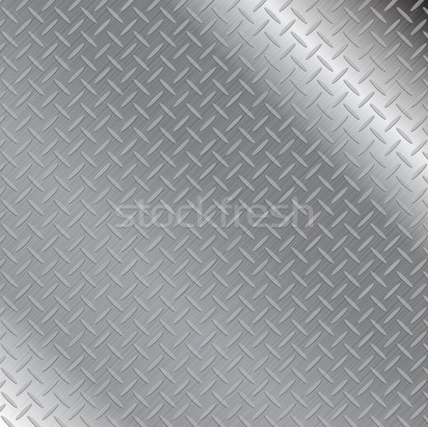 Abstract grey metallic texture background Stock photo © saicle