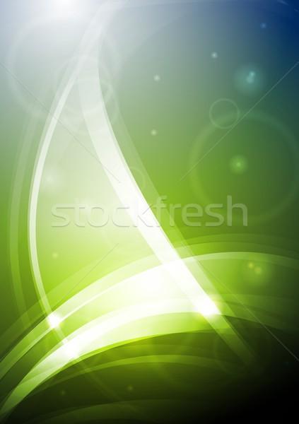 Brilhante elegante fundo abstrato elegante eps Foto stock © saicle