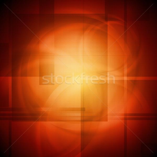 Bright orange design Stock photo © saicle