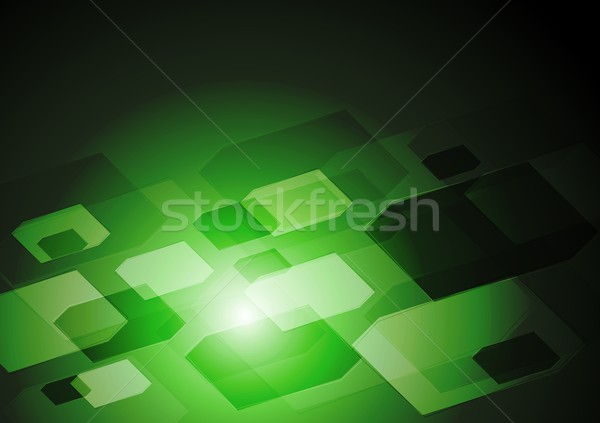 Stock photo: Abstract hi-tech vector background