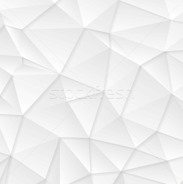 Polygonal abstract grey tech background Stock photo © saicle