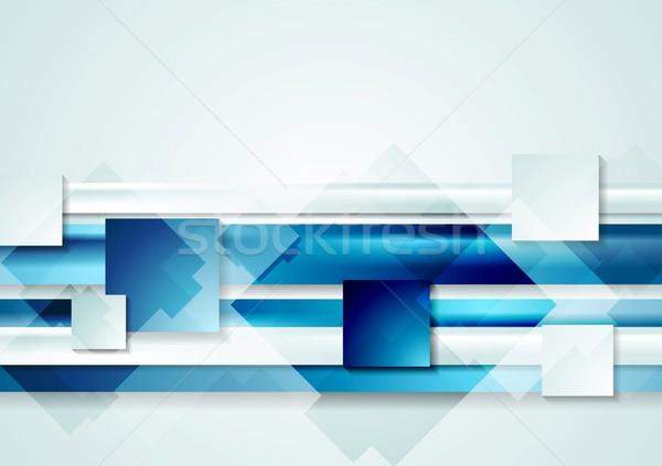 Absztrakt fényes textúra fény háttér keret Stock fotó © saicle