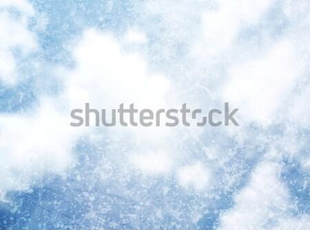Abstract grunge textuur bewolkt hemel vector achtergrond Stockfoto © saicle