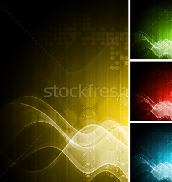 Technical wavy backdrops Stock photo © saicle