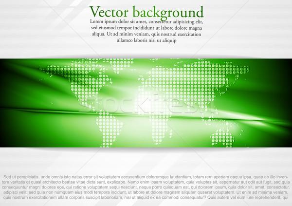 Modern tech business design Stock photo © saicle