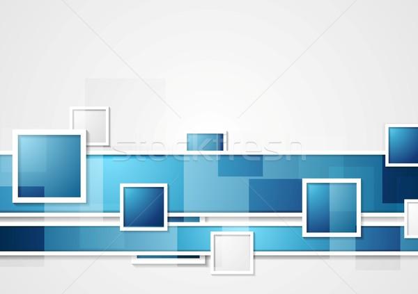 Abstract vector meetkundig ontwerp textuur licht Stockfoto © saicle
