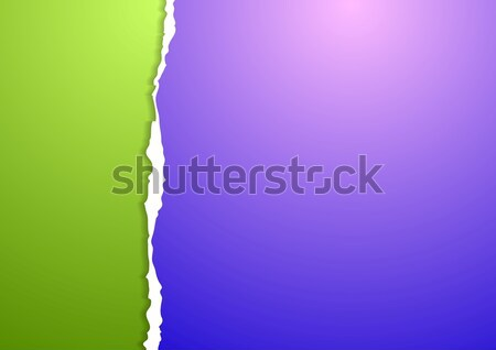 Stock photo: Abstract ragged edge paper background
