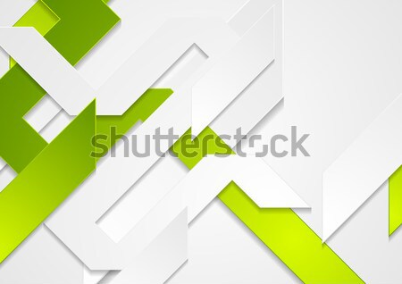 Stock photo: Tech geometric material vector background