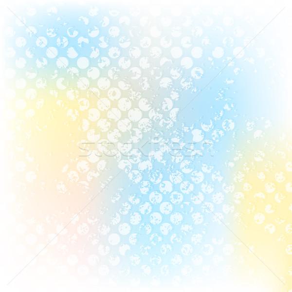 красочный Гранж полутоновой вектора дизайна аннотация Сток-фото © saicle