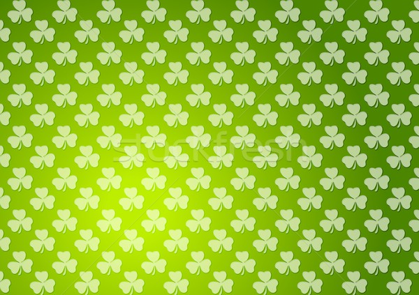 Clovers shamrocks green abstract texture background Stock photo © saicle