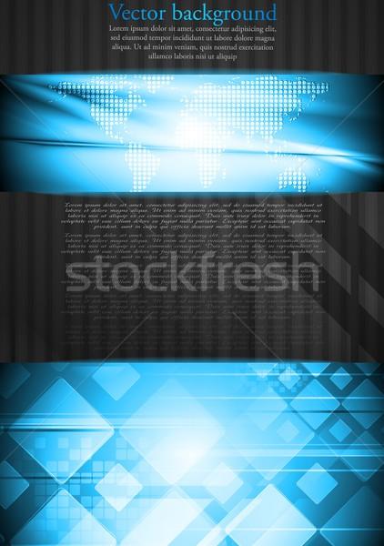Vibrant tech business design Stock photo © saicle