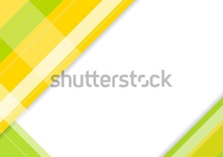 аннотация геометрический минимальный дизайна вектора корпоративного Сток-фото © saicle