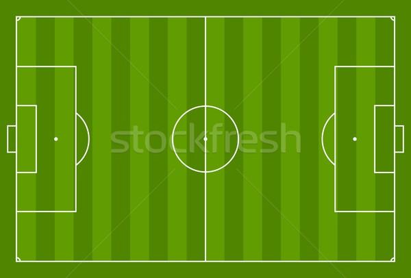 Verde vector campo de fútbol deporte diseno gráfico textura Foto stock © saicle