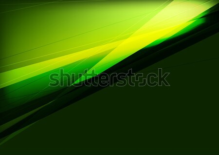 Dark green and black abstraction design with stripes Stock photo © saicle