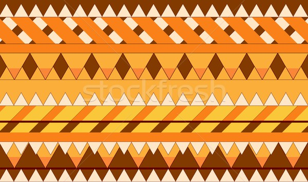 Abstract boho style geometric background Stock photo © saicle