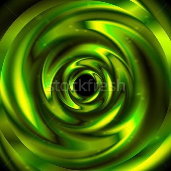 ярко зеленый абстракция аннотация Swirl прибыль на акцию Сток-фото © saicle