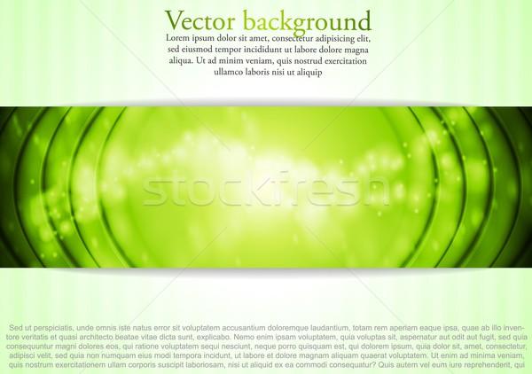 薄緑 ビジネス 背景 デザイン ベクトル eps ストックフォト © saicle