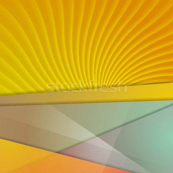 Abstract corporate tech materiale vettore design Foto d'archivio © saicle