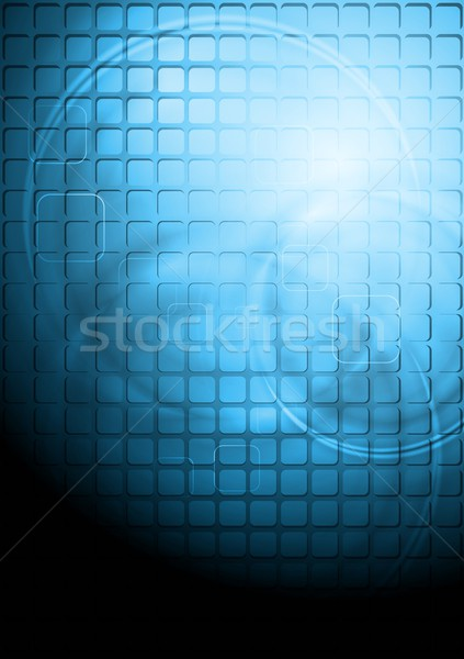 Vector tech abstract ontwerp eps 10 Stockfoto © saicle
