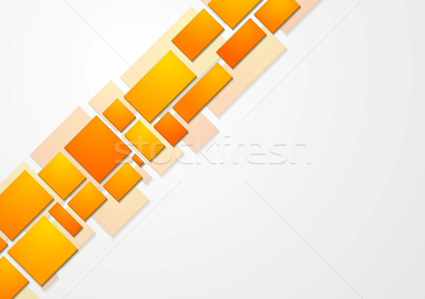 Abstrato tecnologia brilhante textura projeto quadro Foto stock © saicle