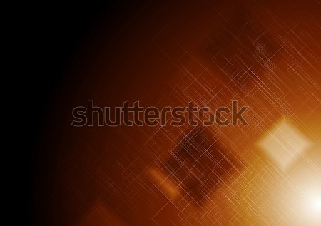 Shiny hi-tech abstract background Stock photo © saicle