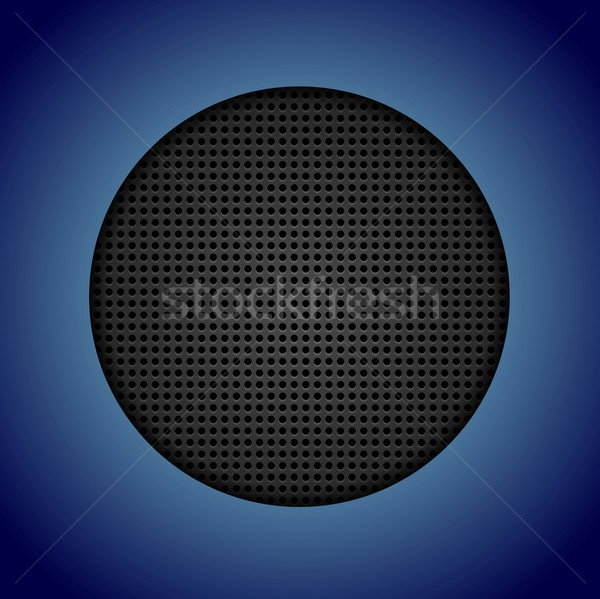 Abstract dark perforated texture Stock photo © saicle