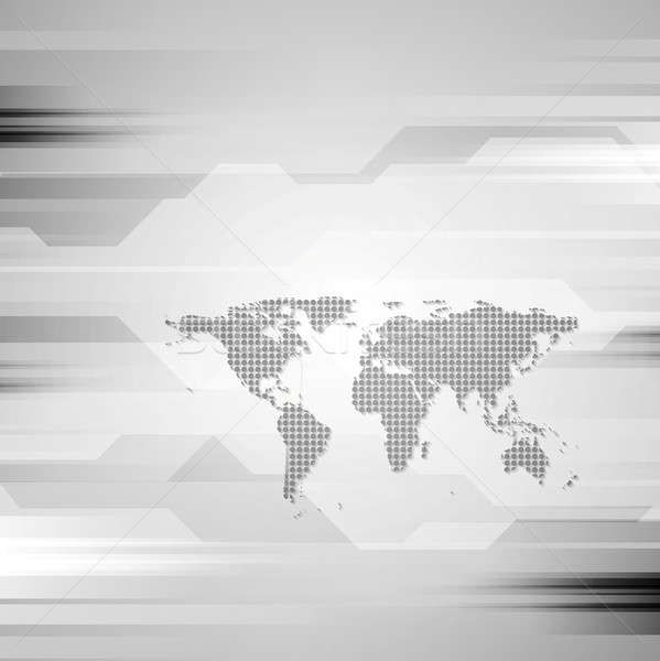 геометрический вектора серый аннотация текстуры карта Сток-фото © saicle
