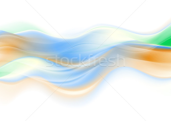 Abstract colorful smooth blurred waves background Stock photo © saicle